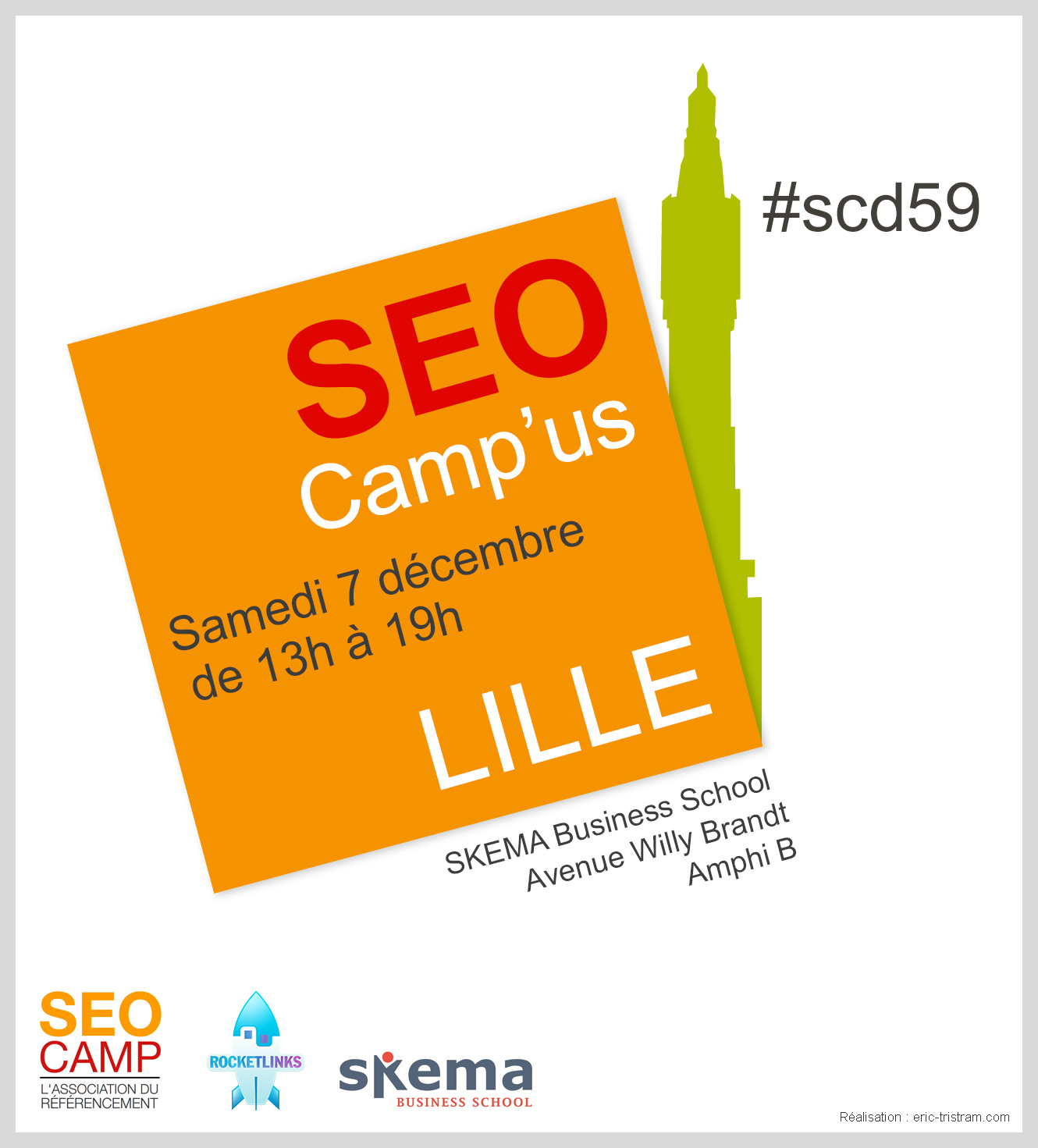SEO Camp'us Lille 2013