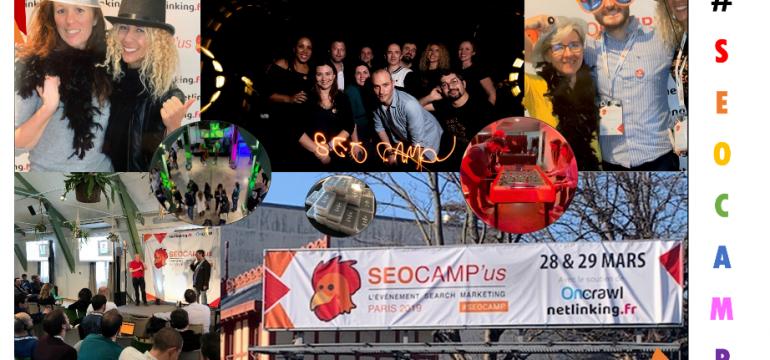 Le SEO Camp'us Paris 2019 : c'est déjà fini!