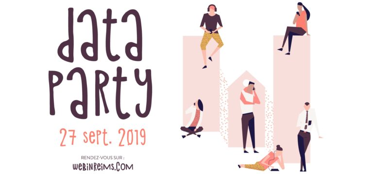 Découvrez la Data Party de Web In Reims le 27 septembre !