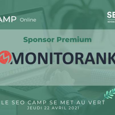 seo green camp sponsor monitorank