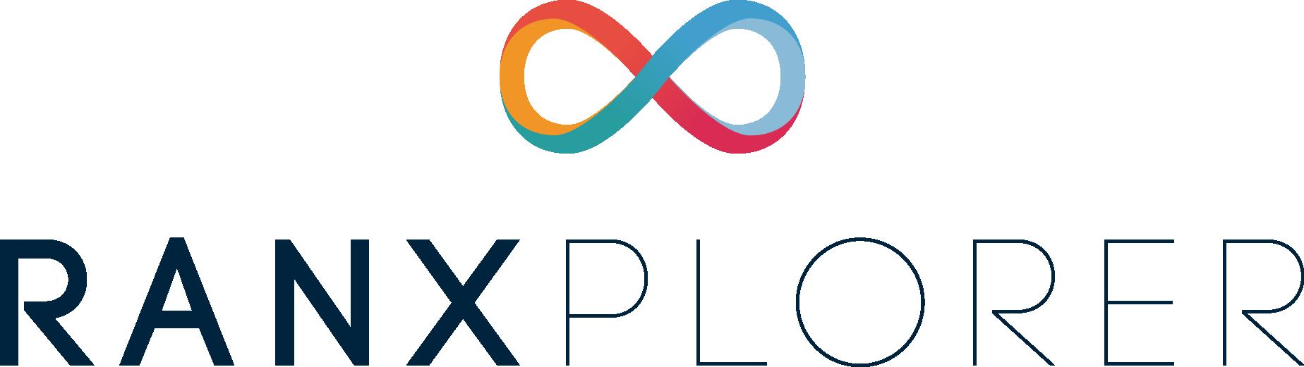logo ranxplorer stacked royal blue